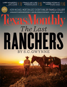 Texas Monthly November 2012