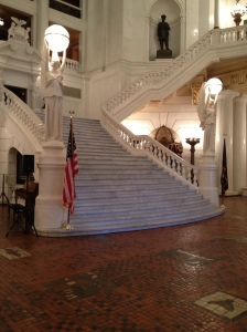 Pennsylvania Capitol Rotunda Stairs