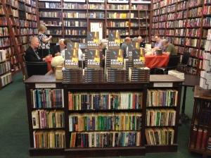 Kwik Krimes Signing Event: Book Display
