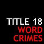 Word Crimes Podcast Logo