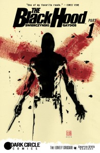 The Black Hood #7 - variant cover