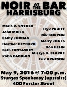 Noir at the Bar Harrisburg - 9 May 2016