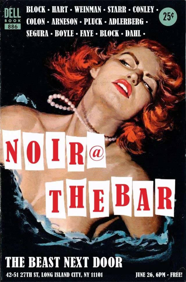 Noir at the Bar - Queens - June 2016